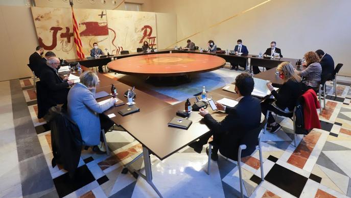 El TSJC suspèn cautelarment l'ajornament de les eleccions del 14-F