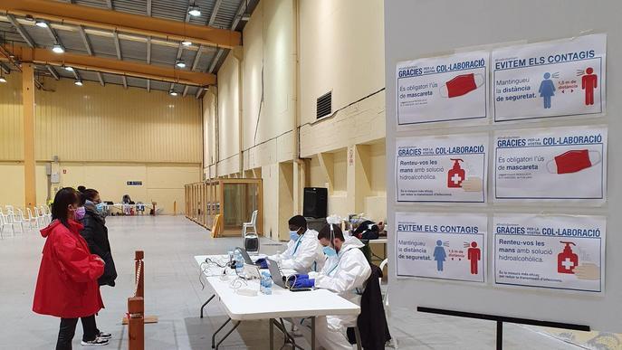 ⏯️ Primers testos d'antígens al personal de les meses electorals per diumenge