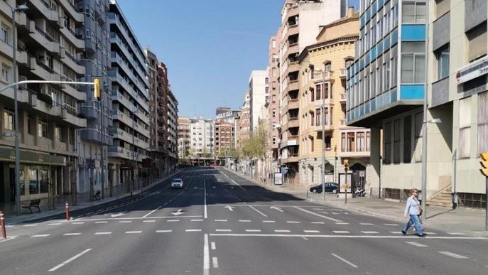 Lleida redueix la contaminació atmosfèrica durant els dies del confinament