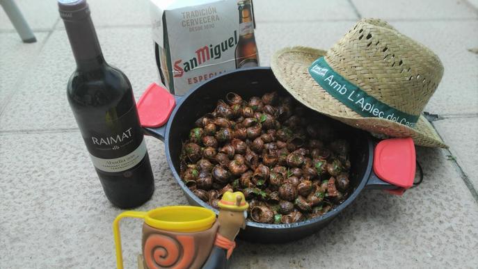 Restaurants de Lleida apropen l'Aplec del Caragol a domicili des d'aquest cap de setmana