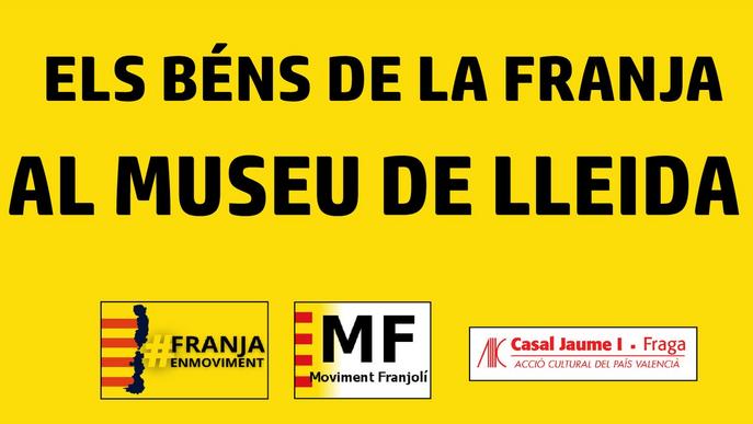 Entitats de la Franja reclamen el retorn dels béns del Museu de Lleida traslladats a Barbastre
