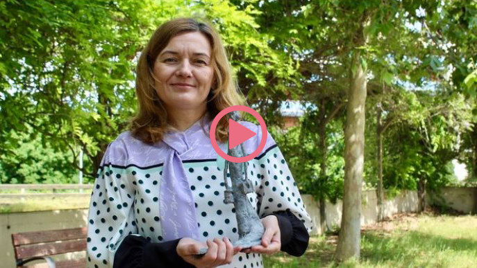 ⏯️ Lleida tindrà una escultura de gran format dedicada a les infermeres