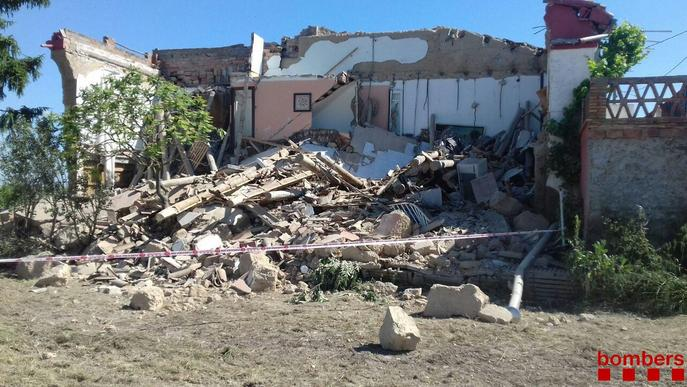 Casa esfondrada Vilanova de Bellpuig