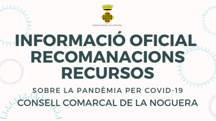 La Noguera obre un canal a Facebook d'informació i recursos sobre la pandèmia per covid-19