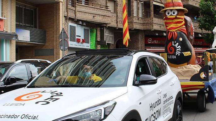 Mascota Aplec del Caragol Hèlix rua