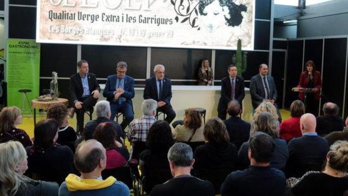 """Arrenca la 57a Fira de l'Oli de les Borges Blanques marcada per una campanya amb menys producció i preus """"ruïnosos"""""""