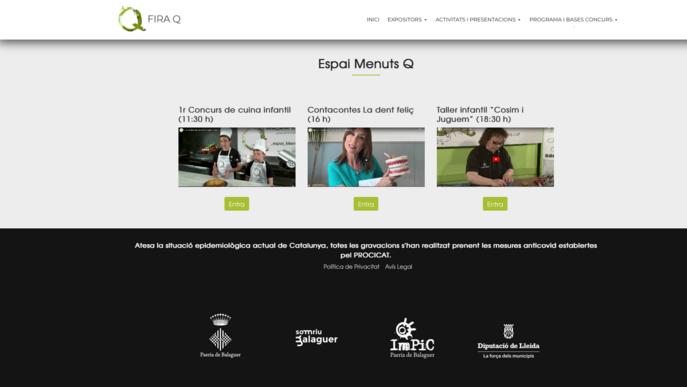 La Fira Q de Balaguer es digitalitza per esquivar la pandèmia