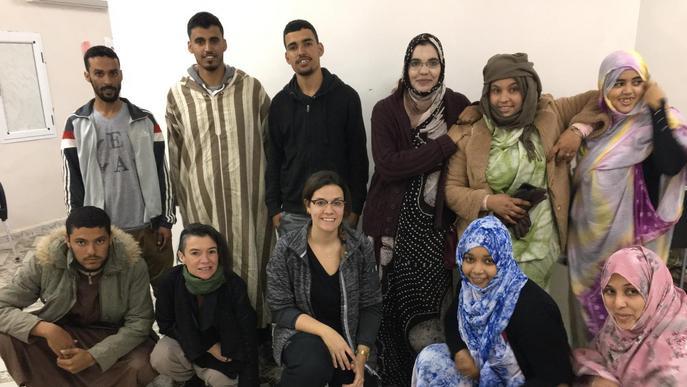 La UdL forma fisioterapeutes als camps sahrauís d'Algèria