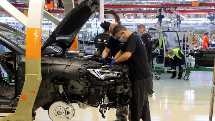 El Govern destinarà 13 milions d'euros a la indústria de l'automoció