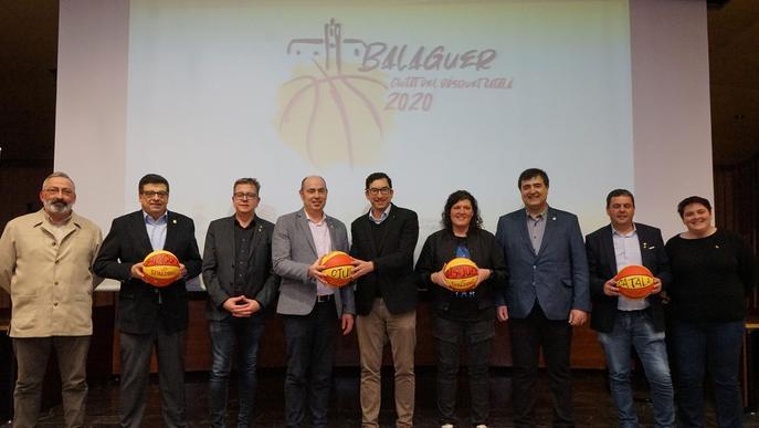 Balaguer ja exerceix com a Ciutat del Bàsquet Català 2020