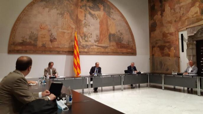 El moviment País Rural es reuneix amb el president de la Generalitat