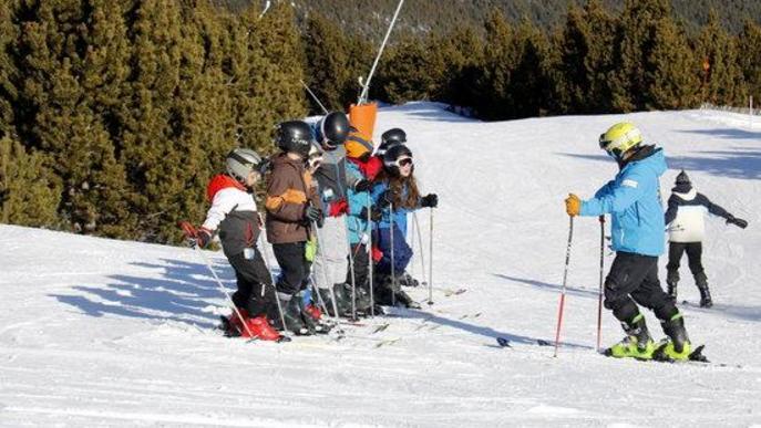 L'estació d'esquí del Port del Comte obrirà portes pel pont de la Puríssima