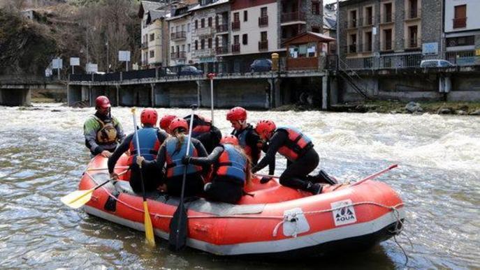 ⏯️ Les empreses de ràfting del Pallars Sobirà començaran a operar a partir del 21 de juny
