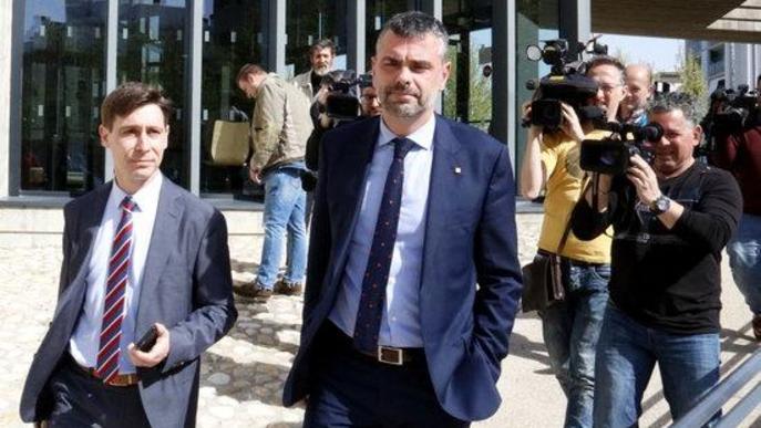 Vila considera que la Generalitat s'hauria de fer càrrec de la seva fiança pel cas Sixena