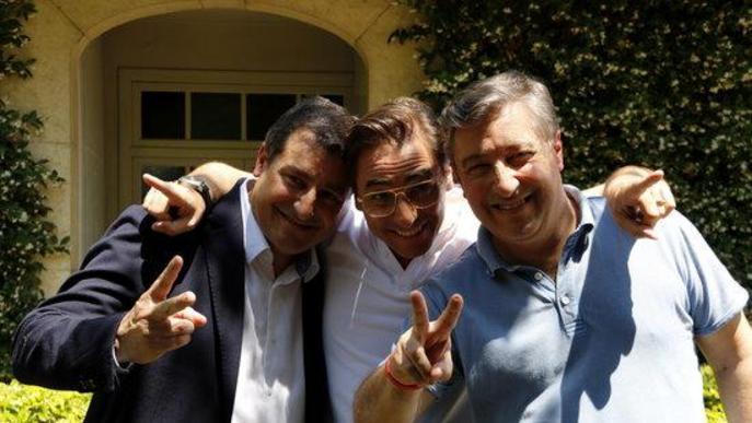 Miquel Barceló, Imma Colomer, els pares de Guillem Agulló, els germans Roca i Laia Sanz, Creus de Sant Jordi 2020