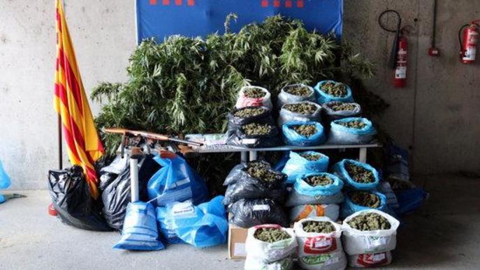 Demanen presó per a set homes d'una família d'Alfarràs per tràfic de drogues