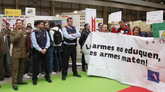 Fira de Lleida vetarà la participació de l'Exèrcit al saló de la Formació i Treball