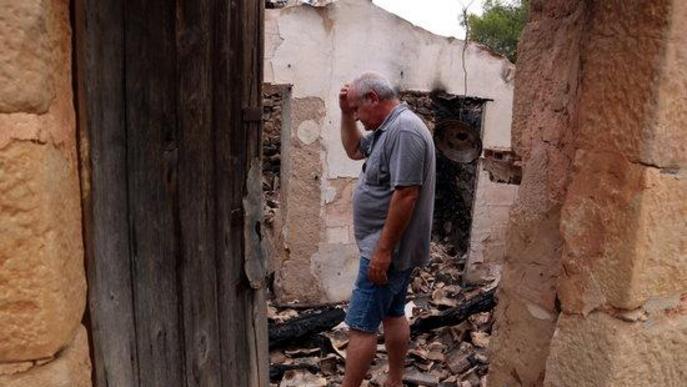 ⏯️ Els agricultors afectats per l'incendi de la Ribera, es bolquen en recuperar la seva producció