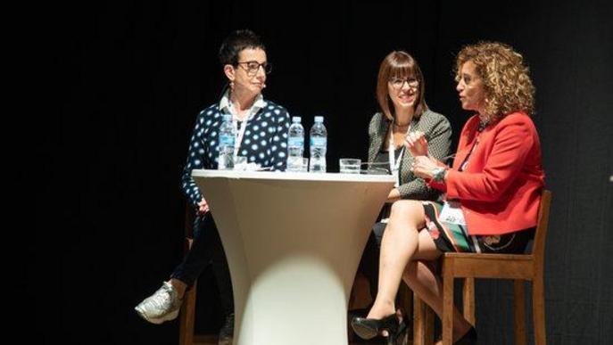 Un moment del Diàleg Talent, a la sisena edició de les Jornades per a l'excel·lència a Esterri d'Àneu