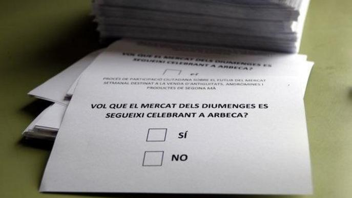 Arbeca vol continuar acollint el Mercat d'Antiguitats al municipi