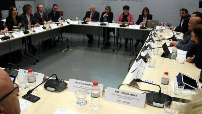 Reunió dels responsables de Salut pel coronavirus, amb secretaris generals de tots els Departaments del Govern i delegats territorials