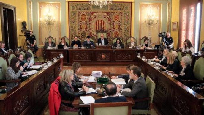 El Ple de la Paeria avala el veto a l'Exèrcit a Fira de Lleida
