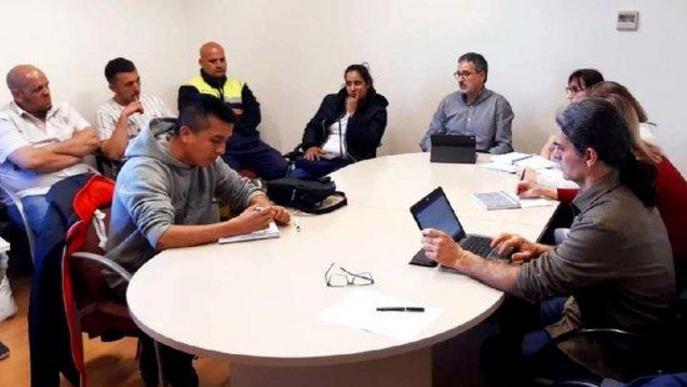 L'Ajuntament de Lleida treballa amb la PAH per millorar els protocols d'actuació en casos d'habitatge d'urgència