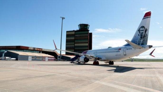 L'aeroport de Lleida-Alguaire s'ofereix com a aparcament pels avions aturats