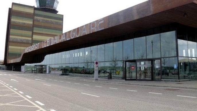 Primera setmana sense vols de passatgers a Alguaire pel coronavirus