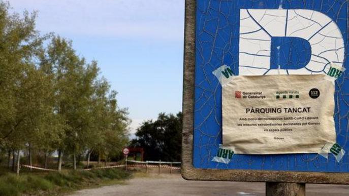 Ciclistes, corredors i campistes: denunciades 145 persones per trencar el confinament