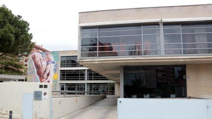 Desinfecten les instal·lacions de la residència Llar de Sant Josep de Lleida