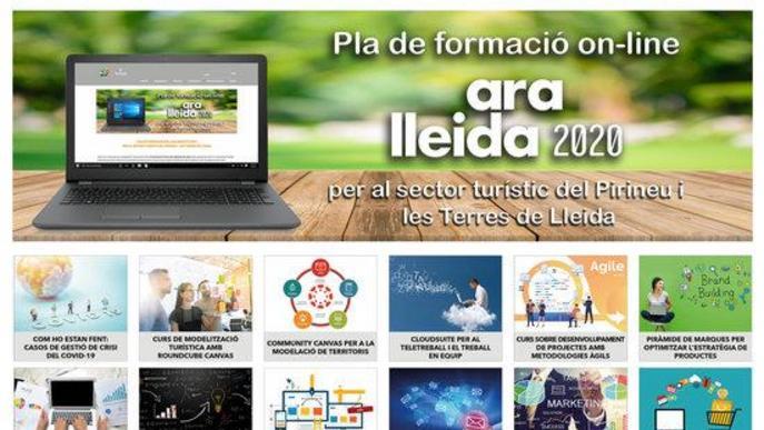 La Diputació de Lleida elabora un pla de formació online gratuït per al sector turístic