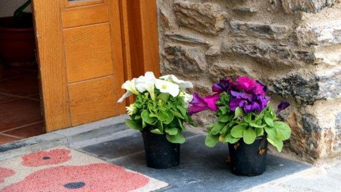 Sort regala dos flors a cada casa del municipi per celebrar Sant Jordi