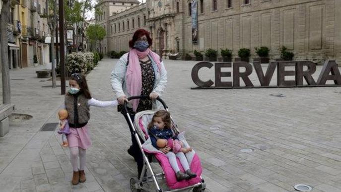 Els infants tornen als carrers i places de les comarques de Lleida