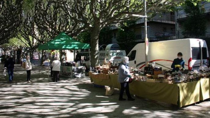 ⏯️ La Seu d'Urgell recupera el mercat setmanal amb una quinzena de parades