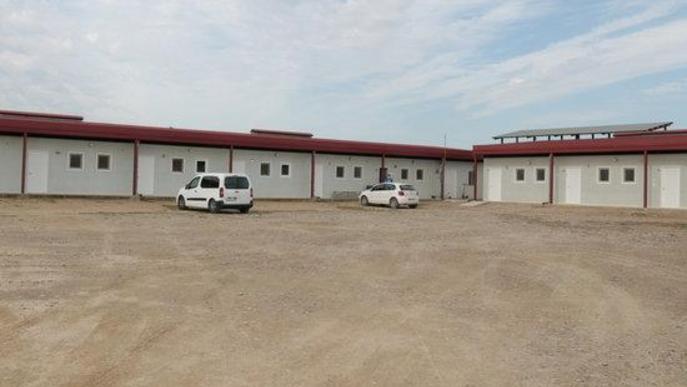 Imatge de l'alberg municipal d'Alcarràs, preparat per si ha d'acollir temporers que hagin d'estar en confinament