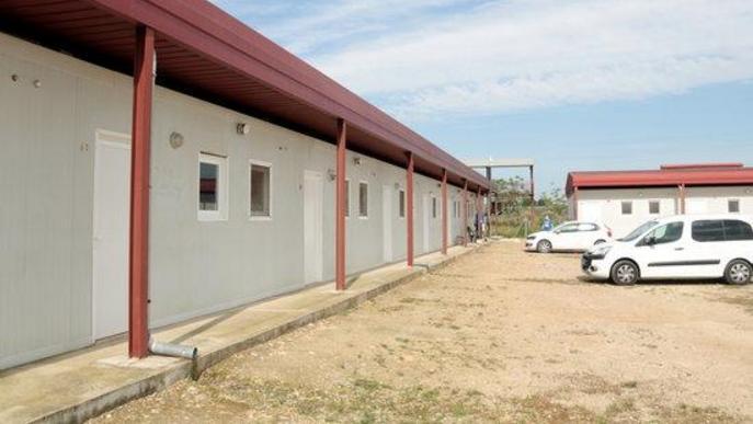 Imatge de l'alberg municipal d'Alcarràs, habilitat per si ha d'acollir temporers amb símptomes de coronavirus
