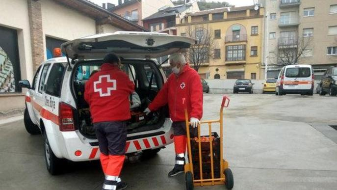 Arxiu voluntaris Creu Roja
