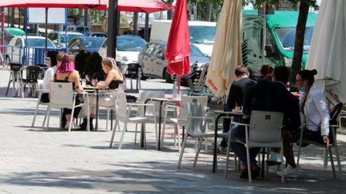 Arxiu terrassa bar Lleida