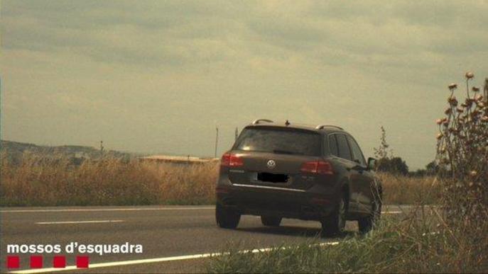 Enxampen un conductEnxampen un conductor circulant a 184 km/ per la C-12 de Menàrguensor de Menàrguens circulant a 184 km/ per la C-12