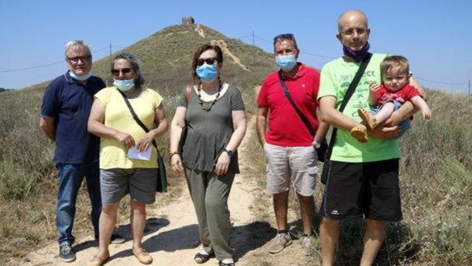 ⏯️ Diverses entitats de Lleida reclamen a la Paeria salvaguardar patrimoni oblidat com el tossal de la Moradilla