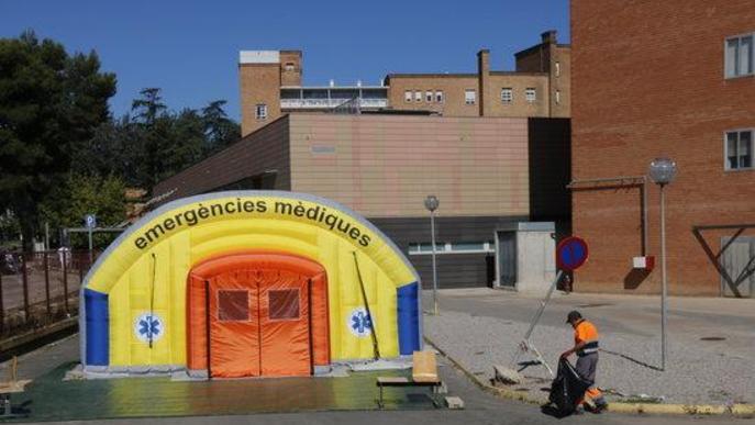 Salut detecta 155 nous casos de Covid a la regió sanitària de Lleida