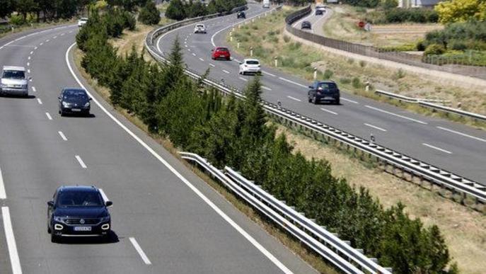 ⏯️ Els mossos munten un centre de comandament l'A-2 a Vila-sana per coordinar el confinament del Segrià
