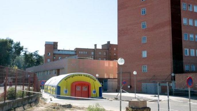 S'eleven a 129 els hospitalitzats per covid-19 a Lleida, 14 dels quals a l'UCI