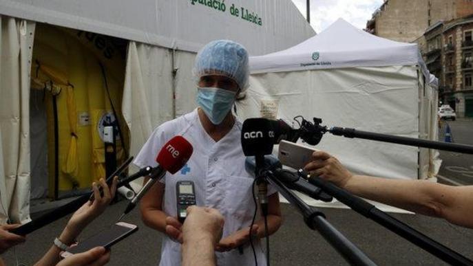 ⏯️ El dispositiu especial del CUAP Prat de la Riba atén centenars de persones al dia amb símptomes