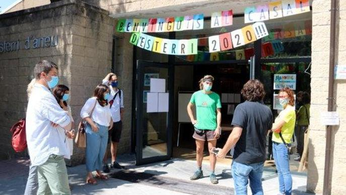 La directora general de Joventut, Laia Girós, ha visitat el casal d'estiu d'Esterri d'Àneu