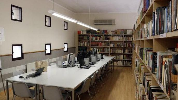 La biblioteca del Centre Cívic de la Bordeta serà un dels Refugis Climàtics