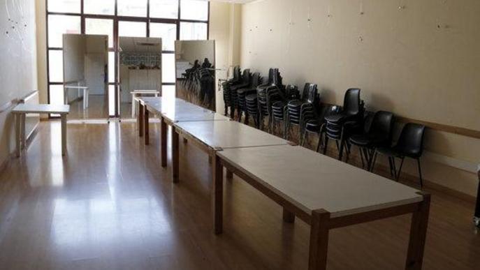 Una de les sales del Centre Cívic de la Bordeta que serà un dels Refugis Climàtics