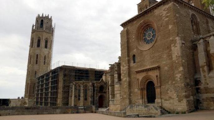 La Seu Vella de Lleida, considerada un dels Refugis Climàtics de la ciutat