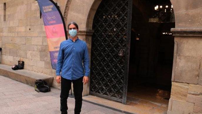 La sencer de l'alcalde accidental de Lleida, Sergi Talamonte